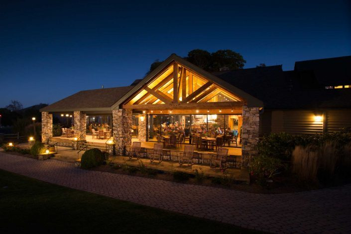 clubhouse dining at mountain air