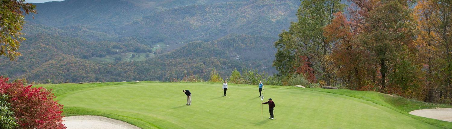 golf properties at mountain air