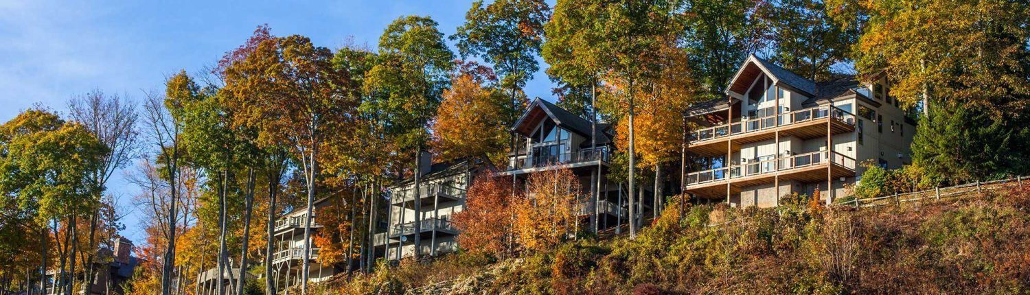 luxury mountain view homes, condos, and lots at mountain air