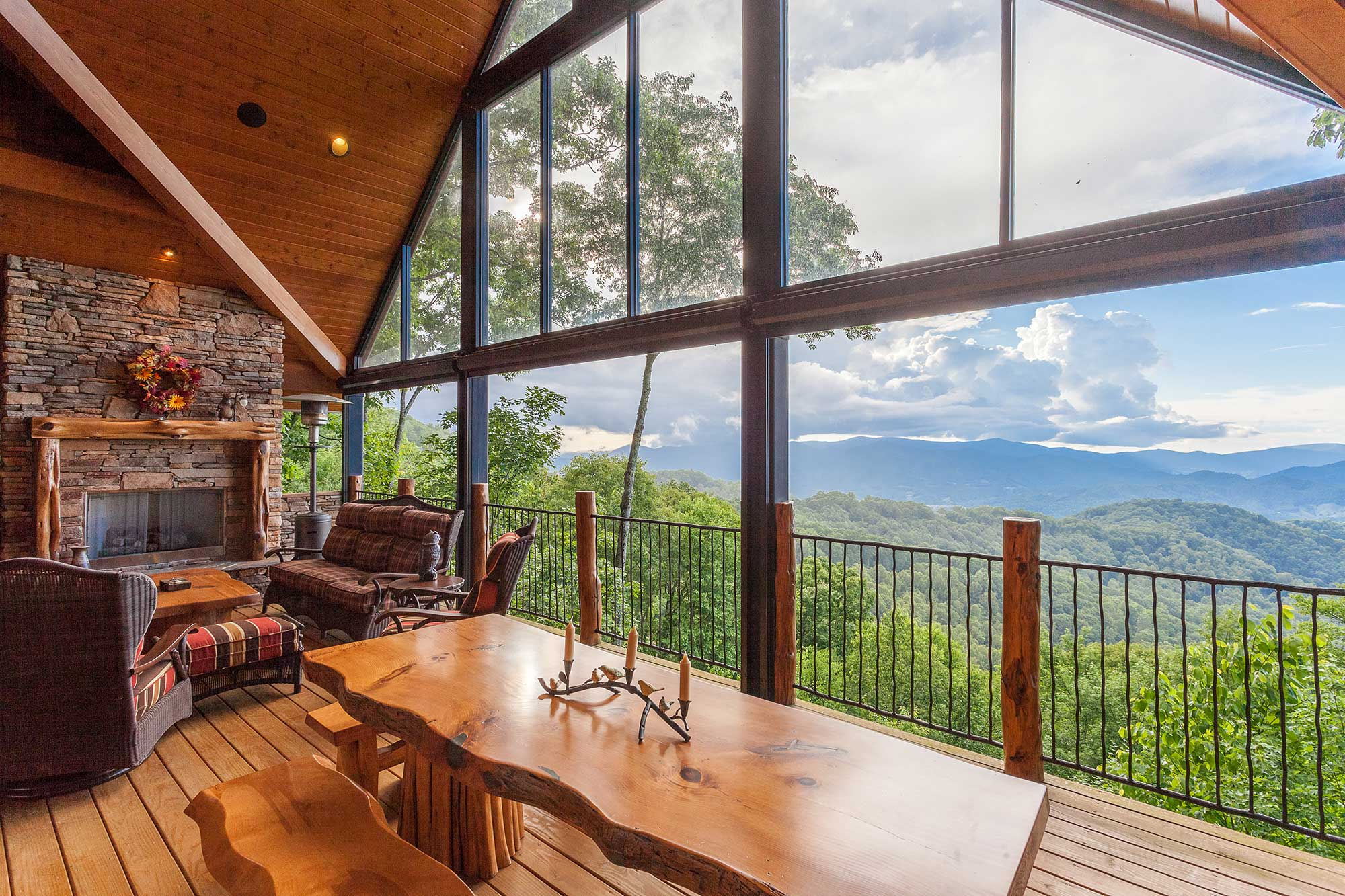 mountain air properties with mountain view
