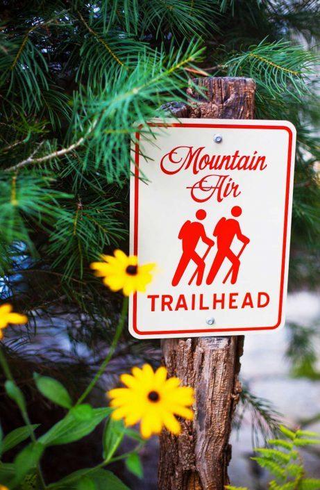 mountain air trailhead