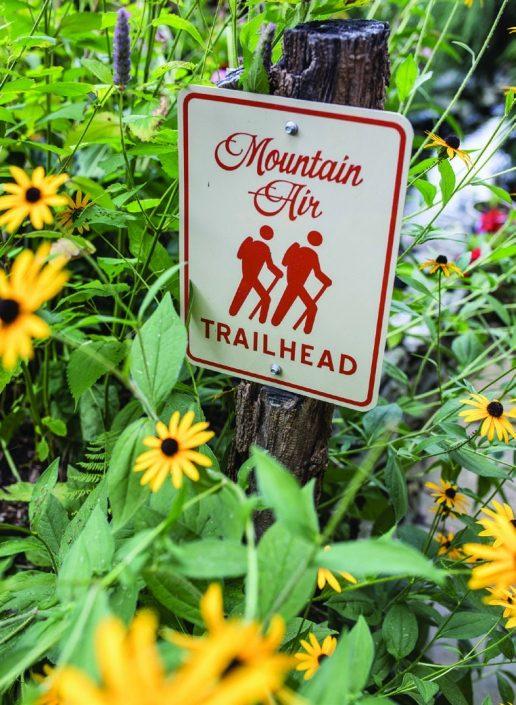 Mountain Air Trail Marker