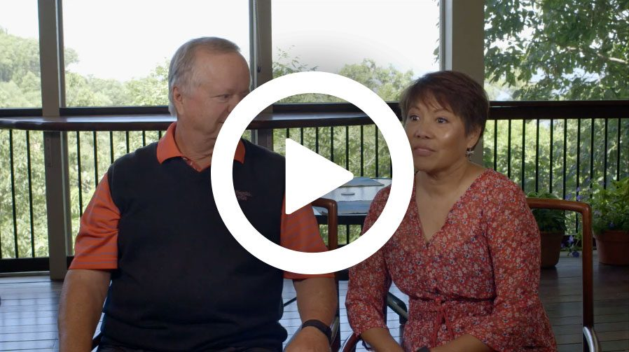 Campbell Family Talks About Living At Mountain Air